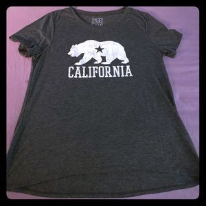 """Tops - """"California"""" ladies fitted T-shirt"""